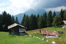 Free An Old Alpine Farm. Stock Photography - 16396572