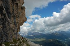 Free Trek In Italian Dolomites. Royalty Free Stock Photos - 16396848