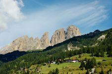 Free South Tirol Landscape. Stock Image - 16396951