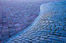 Free Cobbled Street Stock Images - 16398144