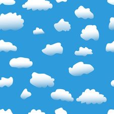 Free Clouds Background Royalty Free Stock Photos - 16398598