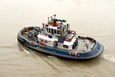 Free Tug Boat Royalty Free Stock Images - 16398809