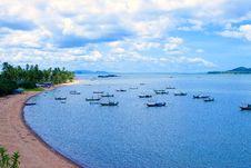 Free Beach  Blue Stock Photo - 16399760