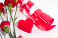 Free Red Plastic Heart Stock Photography - 1642982