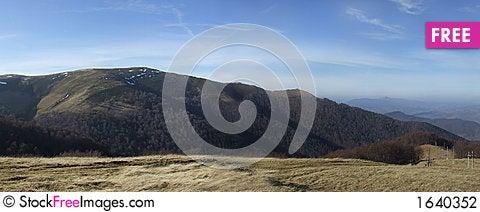 Free Mountain Range Stock Photography - 1640352