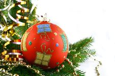 Free Christmas Bauble Royalty Free Stock Images - 1640669