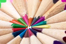 Free Colored Pencils Royalty Free Stock Images - 1640759
