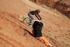 Free Extreme Bike Photosession Royalty Free Stock Images - 1641519