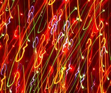 Free Colored Light Motion Blurs 2 Royalty Free Stock Photos - 1641968