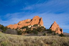 Free Garden Of The Gods Royalty Free Stock Photography - 1642727