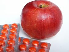 Apple And Tablets Stock Photography