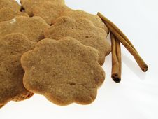 Free Gingerbreads & Cinnamon Stock Photography - 1642842