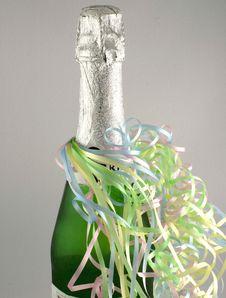 Free Bottle Of Wine Royalty Free Stock Photo - 1644005