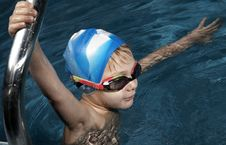 Free Little Swimmer Stock Photo - 1644590