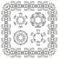 Free Decorative Elements. Royalty Free Stock Images - 1644849