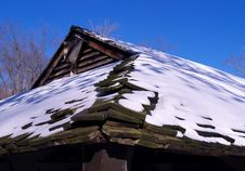 Free Snow Topped Roof Stock Image - 1645201