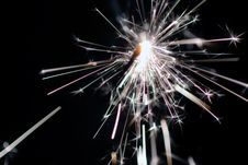 Free Sparkler Stock Photography - 1645802