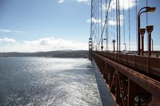 Free Details Of Golden Gate Bridge Royalty Free Stock Photography - 1646647