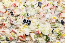 Free Mixed Salad Background Stock Photos - 1646963