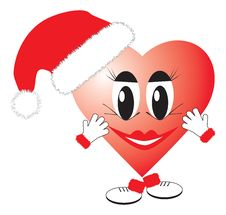 Free Christmas Heart Stock Image - 1647151