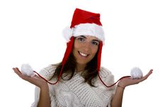 Free Christmas Woman Royalty Free Stock Images - 1647189