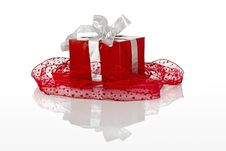 Free Gifts Boxes Royalty Free Stock Photo - 1647515