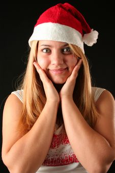 Free Christmas Girl Stock Images - 1648114