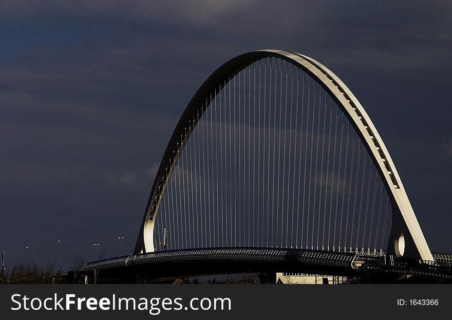 The withe bridge