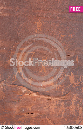Rock art 2 Stock Photo
