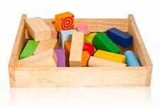 Toy Wood Royalty Free Stock Image