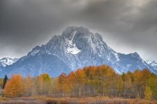 Free Autumn In Teton National Park Stock Photos - 16400573