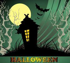 Free Halloween Night Background Stock Photos - 16401433