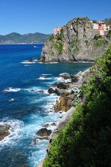 Free Cinque Terre Coast Royalty Free Stock Photos - 16401578