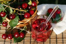 Free Cherry Jam Stock Image - 16401671
