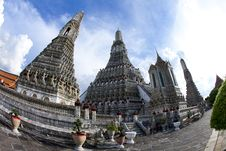 Free Wat Pho In Thailand Stock Photography - 16402202