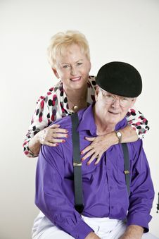 Free Elderly Senior Couple Stock Image - 16402701