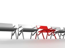 Free Chairs Royalty Free Stock Images - 16402879