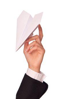 Free Paper Plane Stock Image - 16403801