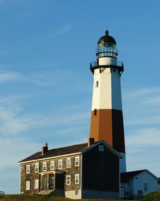 Free Lighthouse At Montauk Bay Royalty Free Stock Images - 16404949