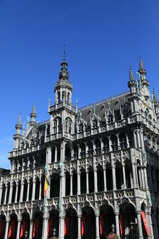 The King S House At Grote Markt, Brussel Stock Images