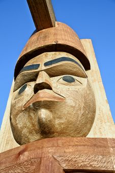 Native American Totem_2 Royalty Free Stock Photo