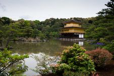 Free Golden Temple In Kyoto Royalty Free Stock Images - 16405979