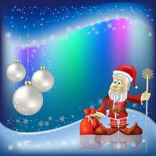 Free Christmas Greeting Santa Claus Stock Photos - 16407253