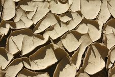 Free Mud Cracks Royalty Free Stock Image - 16407516