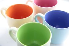 Free Colored Cups Stock Images - 16408144