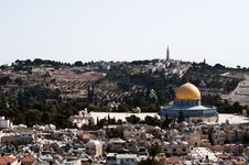 Free Jerusalem And Mount Of Olives Royalty Free Stock Image - 16408736