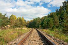 Free Railroad Royalty Free Stock Photo - 16408755