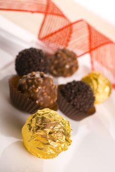 Free Chocolate Praline Royalty Free Stock Photos - 16408948