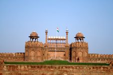 Free Red Fort, New Delhi Royalty Free Stock Photos - 16409308