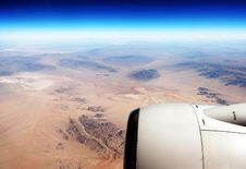 Free Aerial View (Desert/Plane) Stock Photos - 16409343
